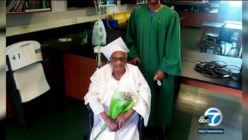 Aunt Vivian Fisher Makes History, Graduates From High School at 98-Years Old